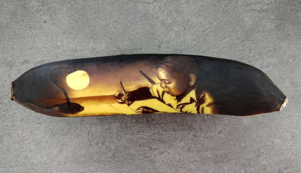 אמנות הבננה של Anna Chojnicka