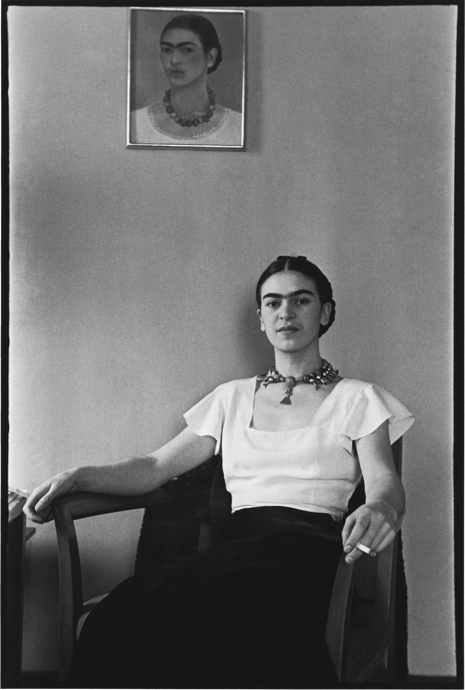 תצלומים נדירים של פרידה קאלו לפני מותה