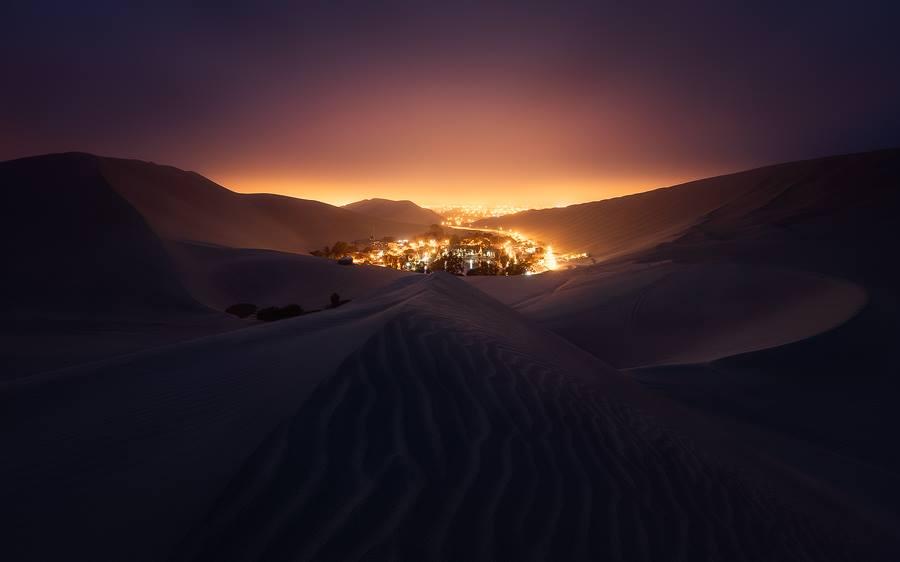 נווה המדבר Huacachina Oasis המהפנט בפרו