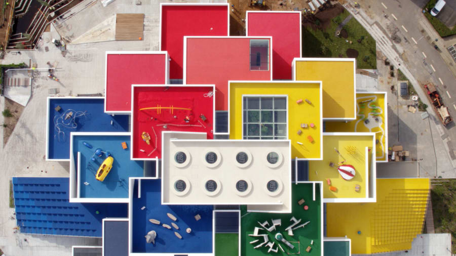 בית המותג לגו LEGO house בקופנהגן / Bjarke Ingels Group