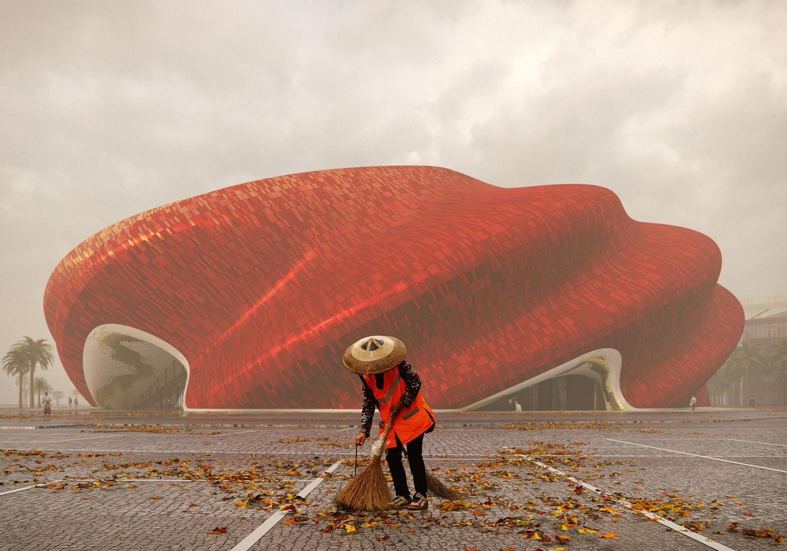 תאטרון Sunac Guangzhou / בתכנון Steven Chilton Architects
