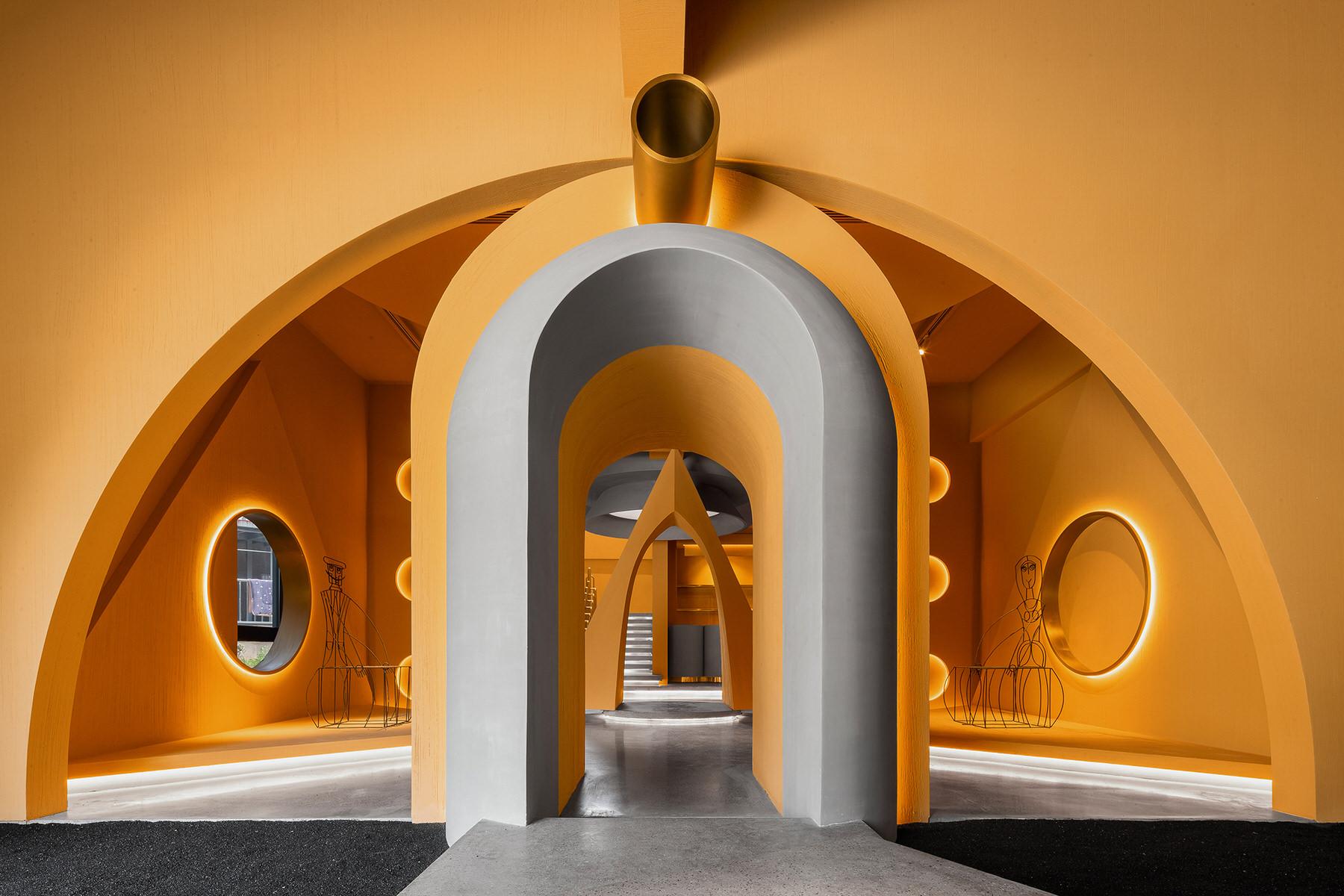 מוזיאון !Ya Space בסין, מוקדש לעיצוב קבוצת ממפיס