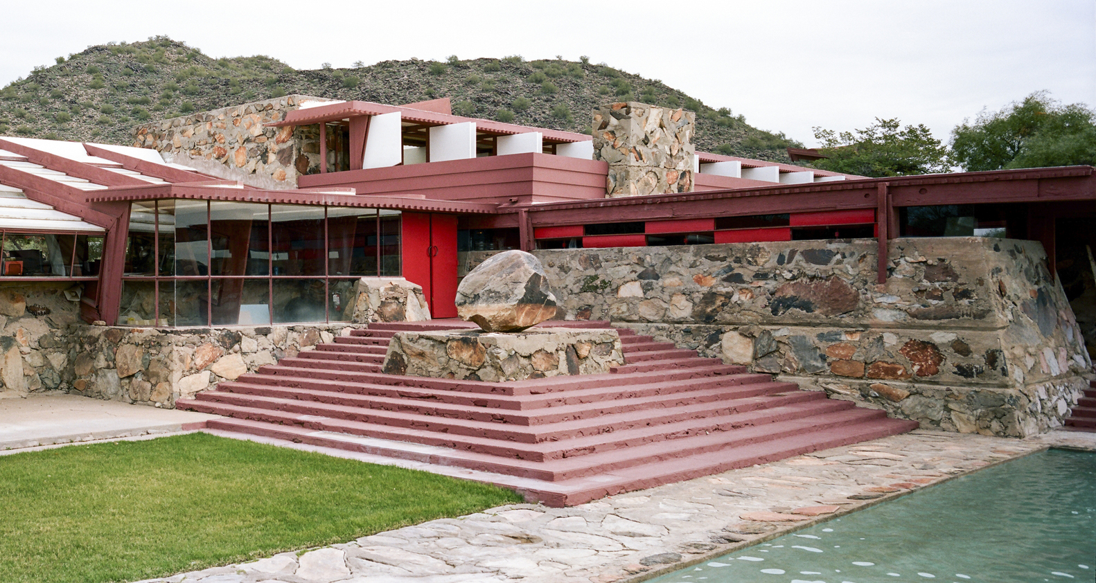 אייקונים באדריכלות: Taliesin West by Frank Lloyd Wright