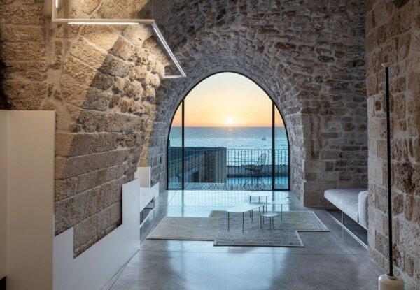 אדריכל פיצו קדם חידש בית בן 300 שנה ביפו העתיקה