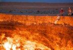 """""""שערי הגיהינום"""" בטורקמניסטן: מכתש דרווזה"""
