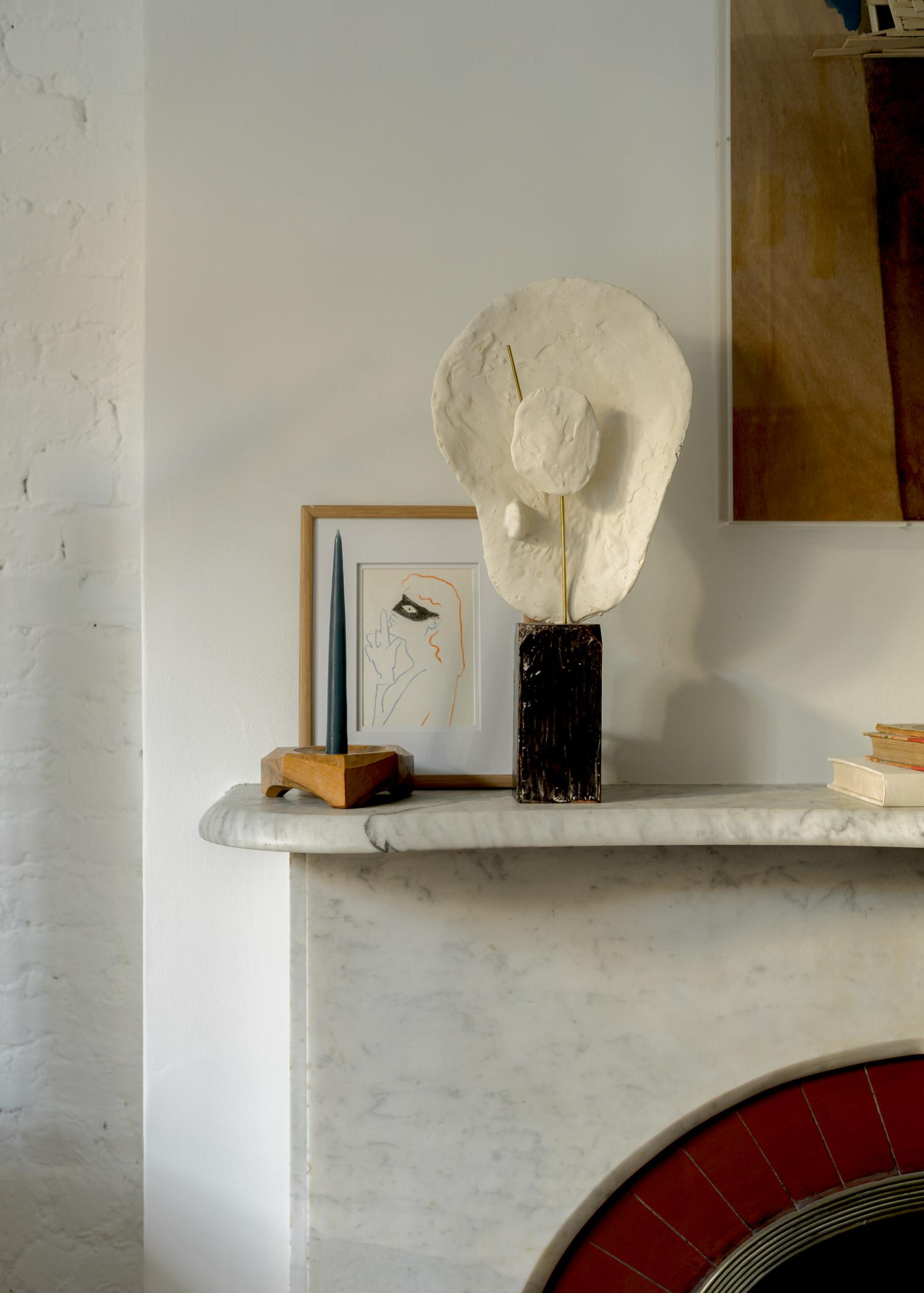 דירה ניו יורקית עם אמנות