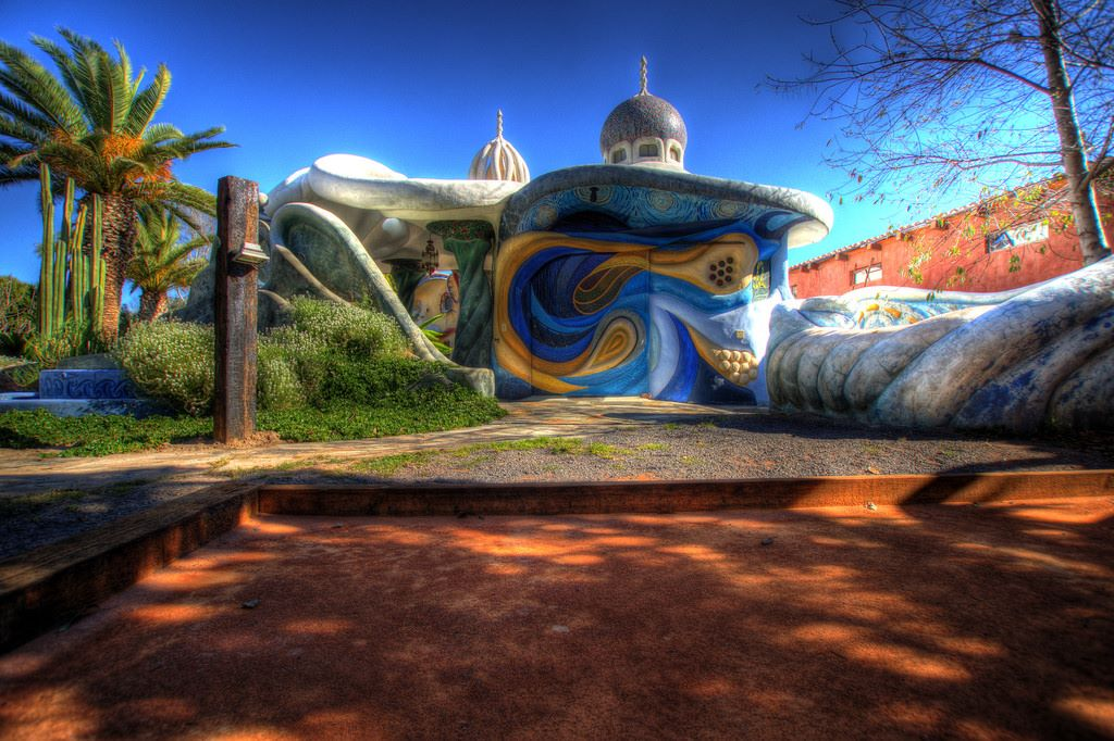 הבית הסוריאליסטיRanchito Cascabel, מקסיקו