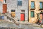 עיר מימי הביניים: Saluzzo (Piedmont)