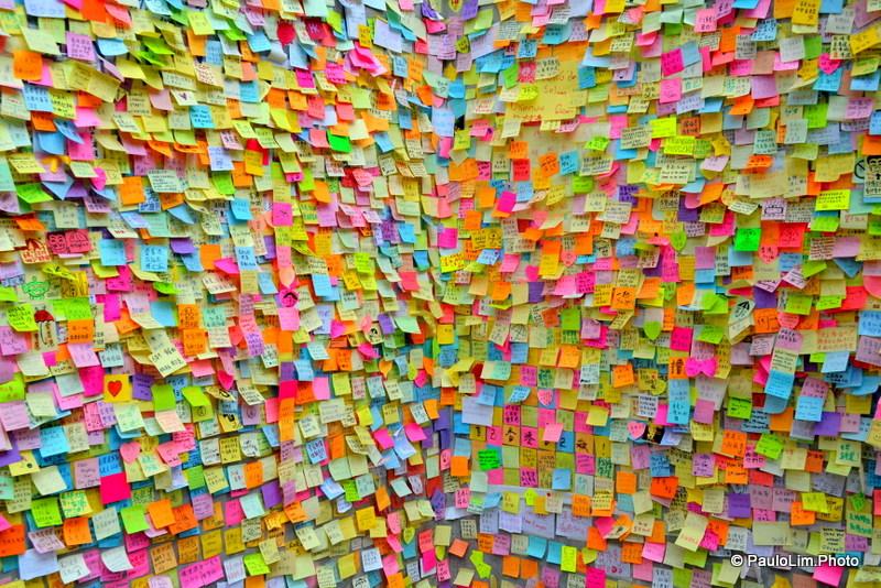 The Lennon Wall בהונג קונג