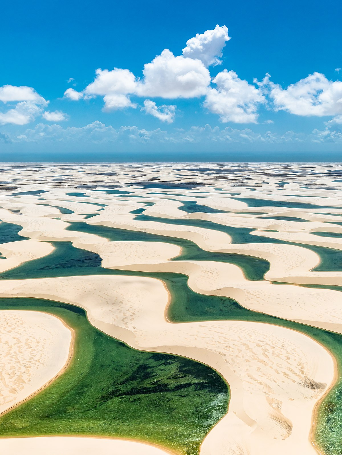 הפארק הלאומי Lençóis Maranhenses, Maranhão, ברזיל