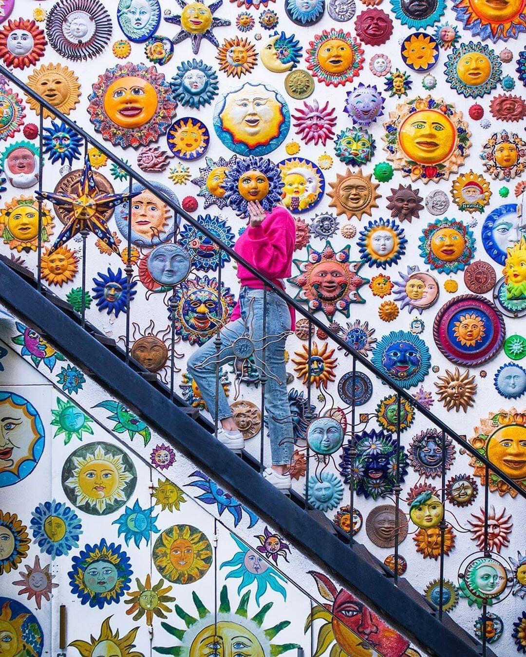 עיר של אמנות, אדריכלות, צבעים, פרחים ויין:San Miguel de Allende