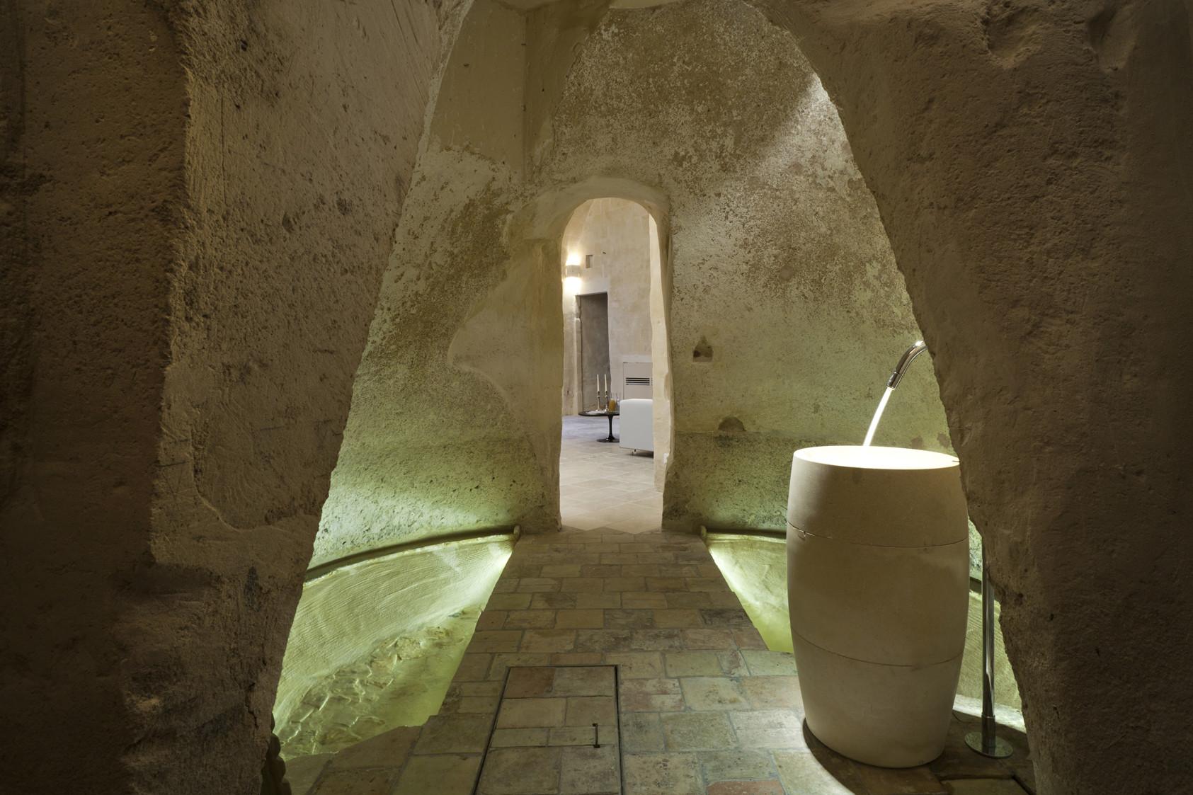 בית מלון במערות Matera