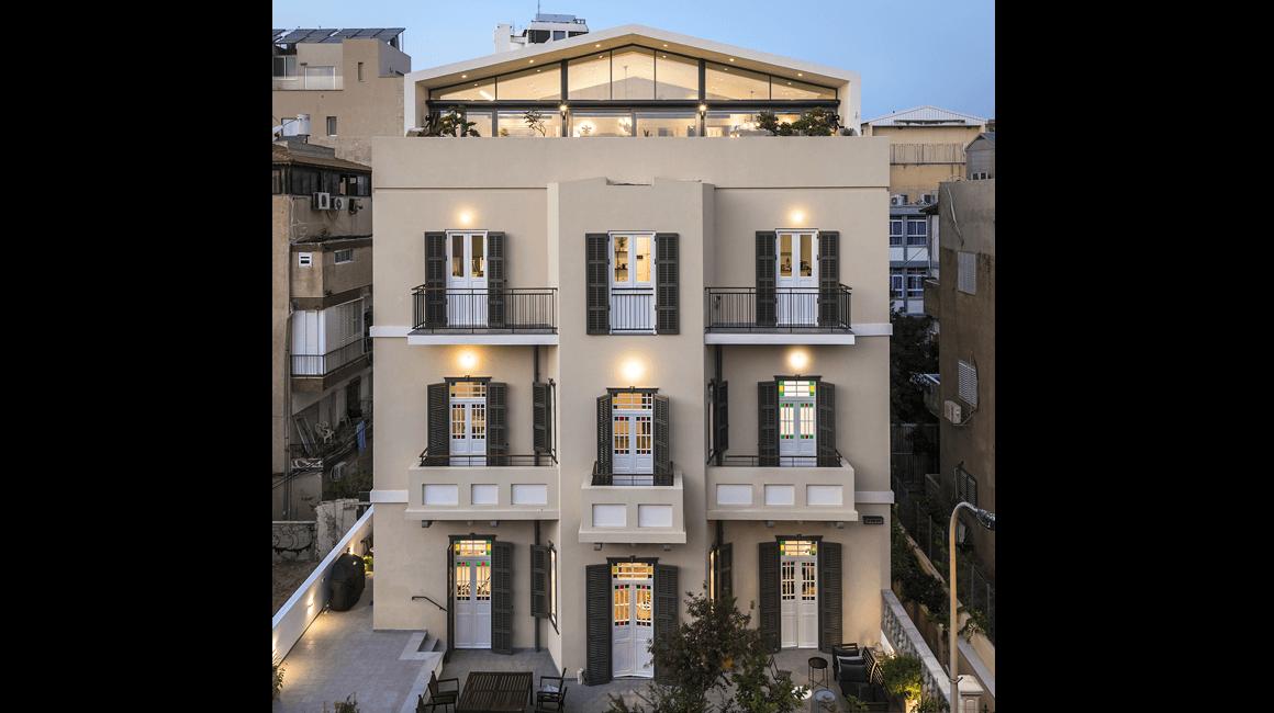שימור: בית גורודצ'יק, הרב קוק 27, תל אביב