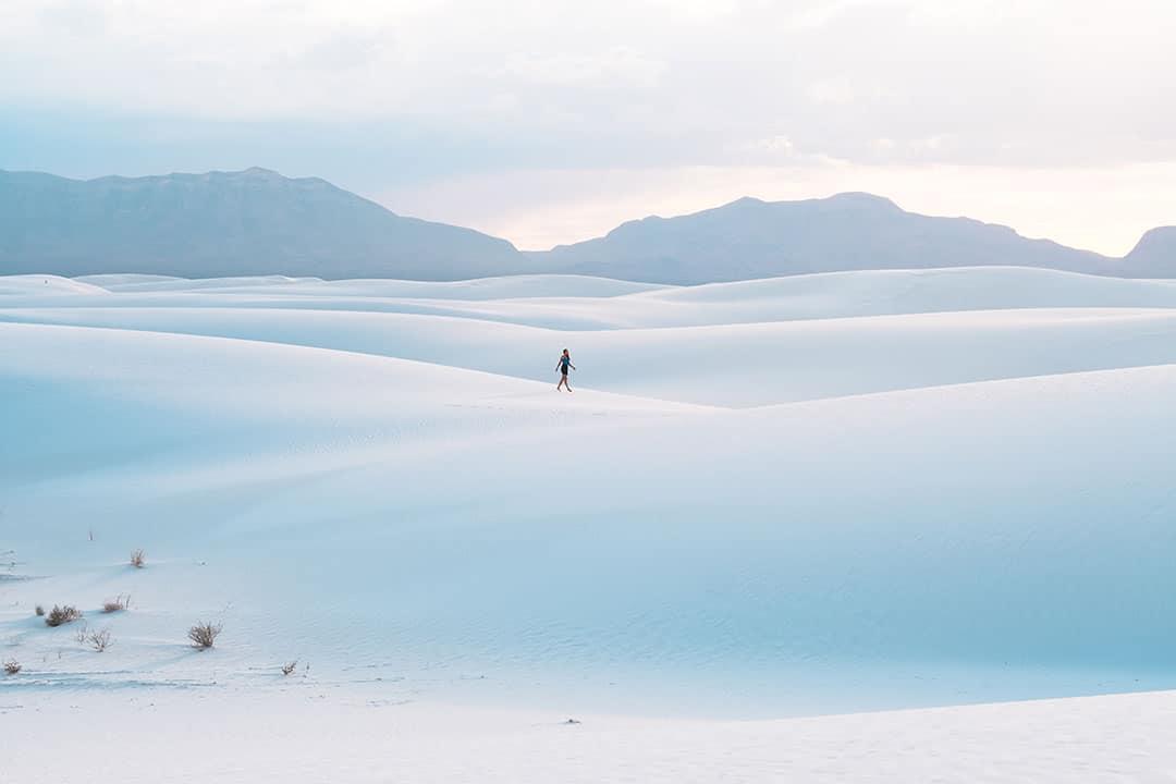 הפארק הלאומי של החולות הלבנים, בניו מקסיקו
