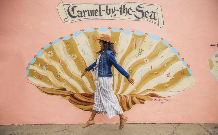 כרמל-על-הים, קליפורניה Carmel-by-the-Sea, California