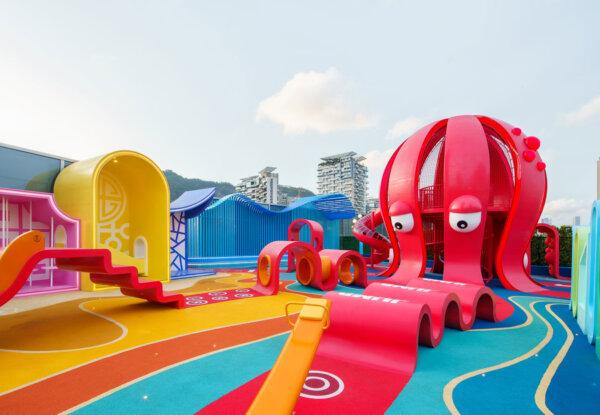 ממלכת התמנון – מתחם משחקים לילדים בסין