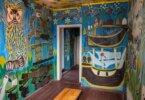 עקרת בית בת 94 מאוקראינה, הפכה את ביתה ליצירת אמנות